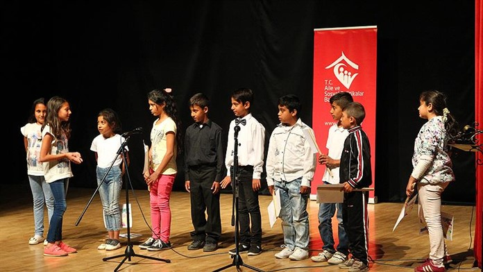Kırklareli'nde Çocuklar Topluma Projesi uygulaması