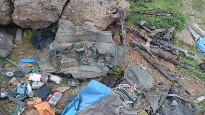 Yüksekova'da 8 terörist öldürüldü