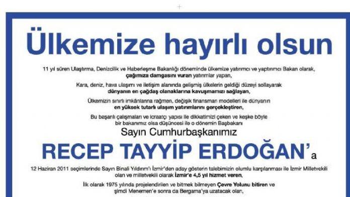CHP'li Çıray o ilanı Meclis'e taşıdı