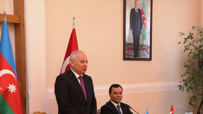 Anayasa Mahkemesi Başkanı Arslan Azerbaycan'da