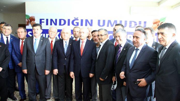 Kılıçdaroğlu 'Fındık Ar-Ge'si oluşturulmalı'