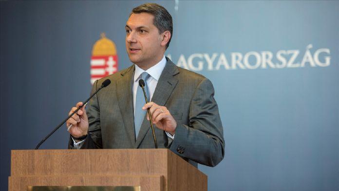 Macaristan Devlet Bakanı Janos Lazar: