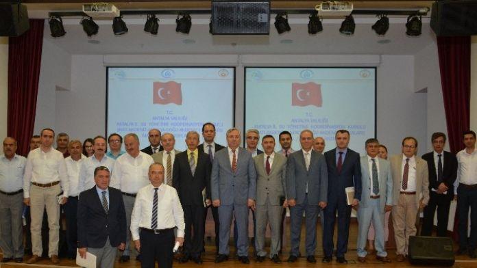 Antalya Su Yönetimi Koordinasyon Kurulu Toplantısı