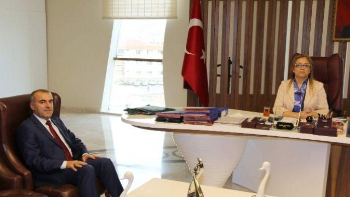 İl Milli Eğitim Müdürü Murat Demir Rektör Kılıç'ı Ziyaret Etti