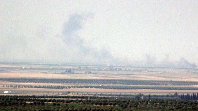 Türkmen Köylerine Saldıran IŞİD, Obüs Toplarıyla Vuruldu
