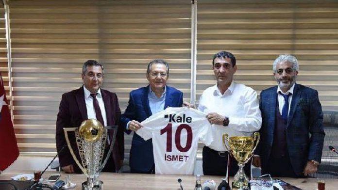 Bandırmaspor yönetimi Balıkesir Belediye Başkanı Uğur'dan destek istedi