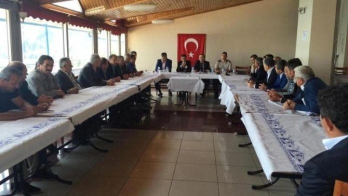 Amasra Köylere Hizmet Götürme Birliği Toplandı