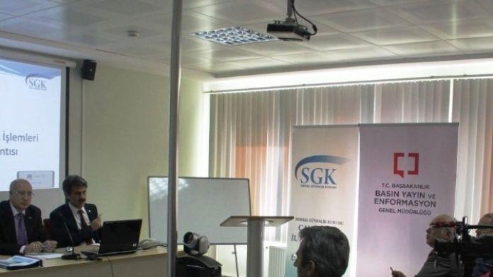 Gazetecileri Bilgilendirme Toplantısı Yapıldı