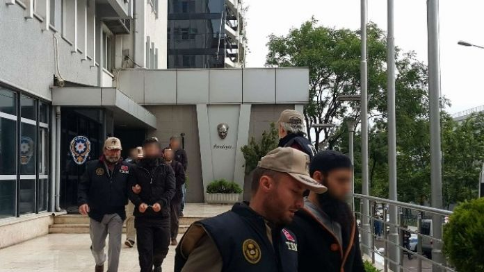 Bursa'da Daeş Operasyonunda 3 Tutuklama