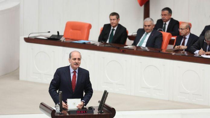 Kurtulmuş ile CHP'liler arasında 'rejim sistem' tartışması