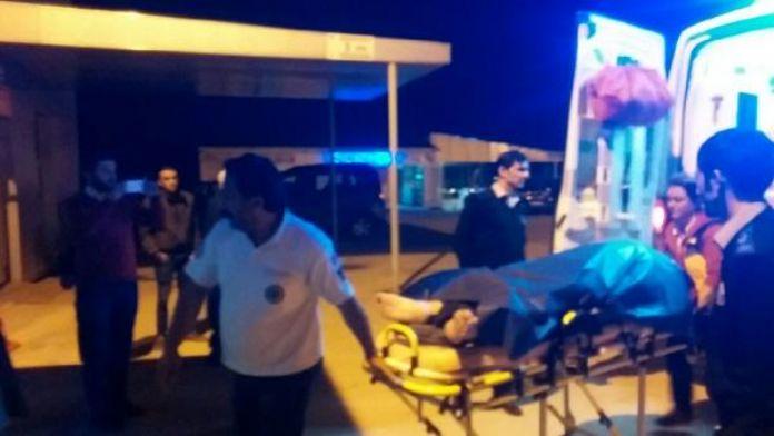 İşçilerin kaldığa çadıra ateş açıldı: 1 yaralı