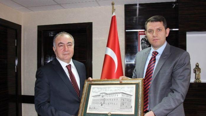 Yol-iş Sendikası Genel Başkanı Ağar'dan, Vali Varut'a Ziyaret