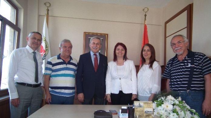 Muhasebecilerden Agc Başkanı Semra Şener'e Ziyaret