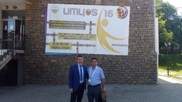 Düzce Üniversitesi Kosova'da Umyos 2016'ya Katıldı