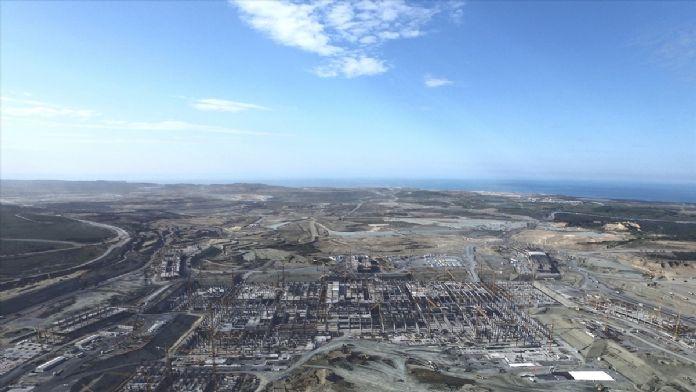 Üçüncü Havalimanına şu ana kadar 1,8 milyar avro harcandı