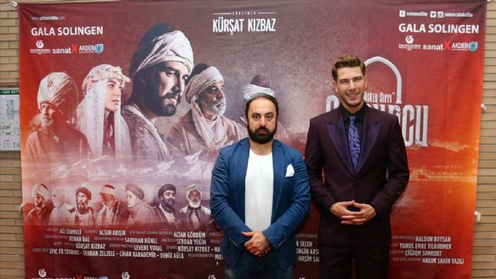 'Somuncu Baba Aşkın Sırrı' filminin Almanya galası yapıldı
