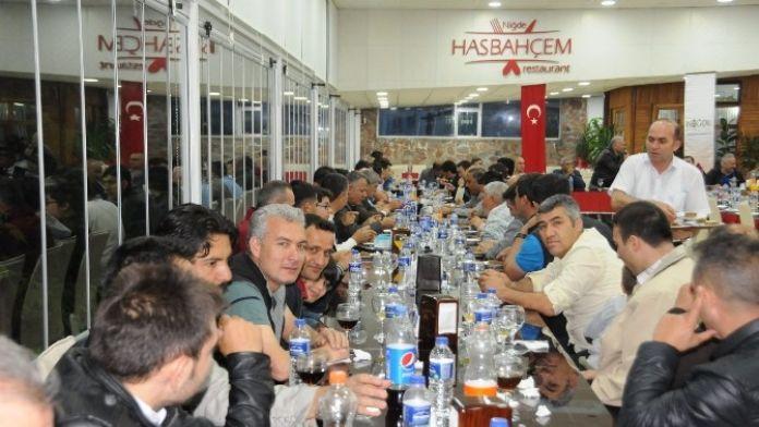 Niğde Belediyesi'nin Turnuvasına Katılan Takımlar Kapanış Yemeğinde Buluştu