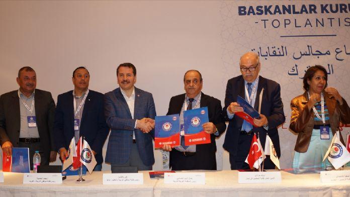 Eğitim Bir-Sen Başkanlar Kurulu Ürdün'de toplandı