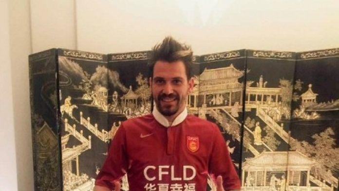Ersan Gülüm Çin'deki İkinci Golünü Attı