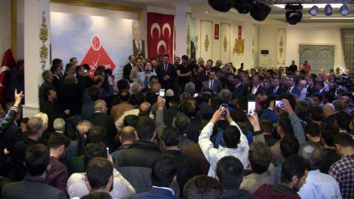 Akşener'i Erzurum'da ciritciler karşıladı (2)