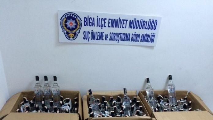 Çanakkale'de Sahte İçki Operasyonu