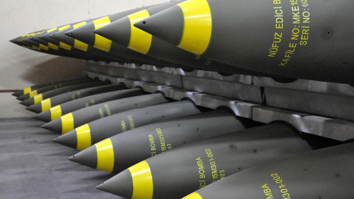 'Sığınak delen' milli bombalar üretiliyor