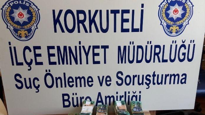 Antalya'da Sahte 296 Bin 150 Avustralya Doları Ele Geçirildi