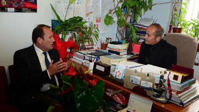 Milletvekili Harun Karacan'dan Prof. Dr. Adnan Ayhancı'ya Tebrik Ziyareti