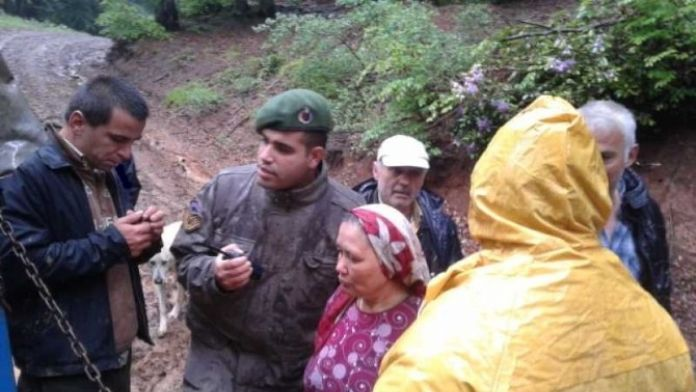 Ormanda Kaybolan Kadın 1 Gün Sonra Bulundu