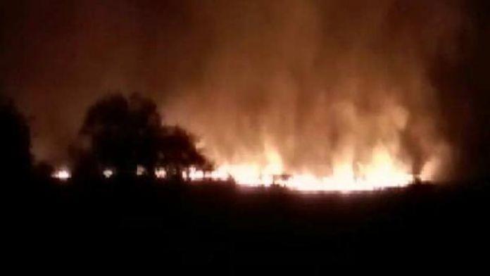 Hindistan'da cephane deposunda büyük yangın: 17 ölü
