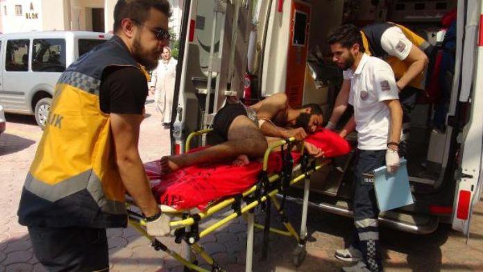 Çatışmalarda yaralanan 5 Suriyeli Kilis'e getirildi