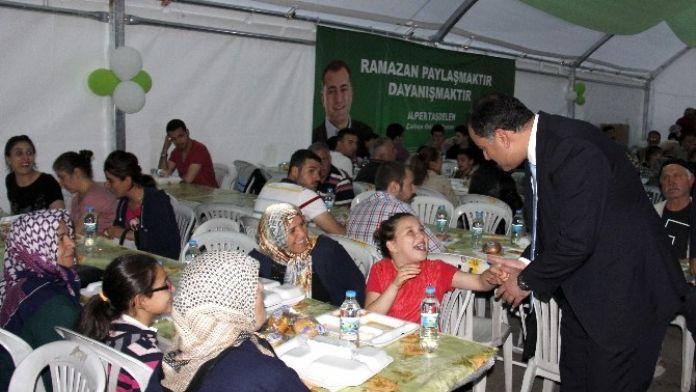 Ramazan'da 4 Bölgeye İftar Çadırı