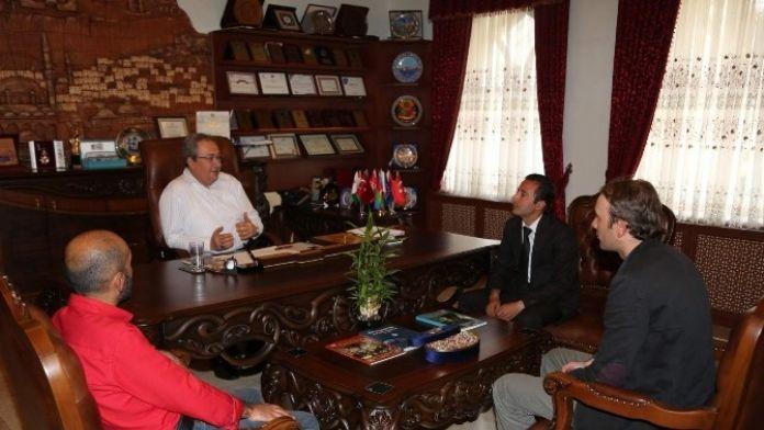 Nevşehir Rehberler Odası Başkan Ve Yöneticileri Ünver'i Ziyaret Etti