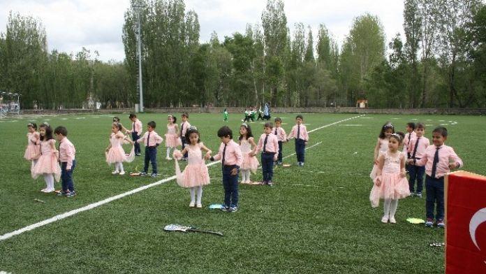 Pasinler'de Anasınıfı Öğrencileri Hünerlerini Sergilediler