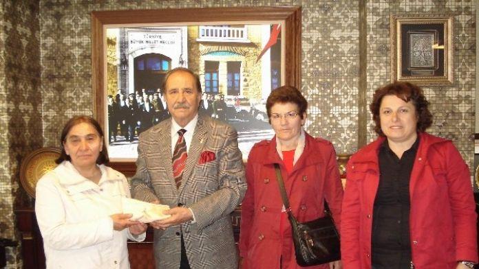 Cumhuriyet Kadınları Derneği'nden, SESOB Başkanı Köksal'a Ziyaret