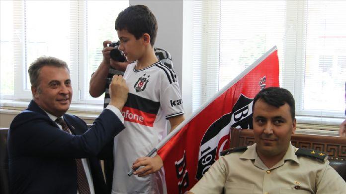 Beşiktaş Kulübü Başkanı Orman Kütahya'da