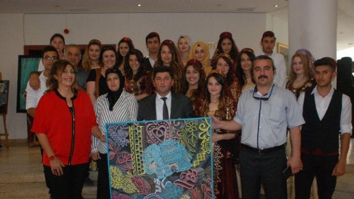 Öğrenciler 'Tokat' Temasını Tablolarına Yansıttı