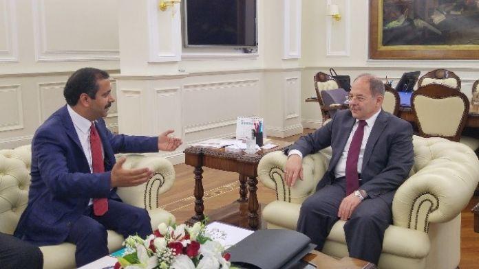 Sağlık-sen Genel Başkanı Memiş'ten Bakan Akdağ'a Ziyaret
