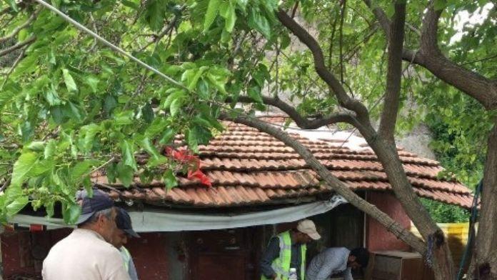 Çankırı'daki Çöp Ev Temizlendi