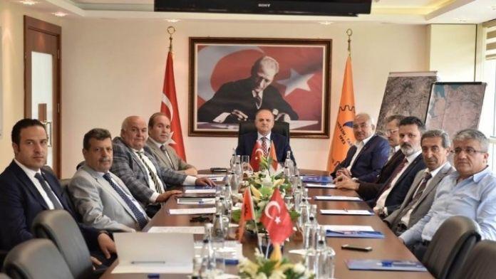 Mtosb Müteşebbis Heyet Toplantısı Vali Çakacak Başkanlığında Yapıldı
