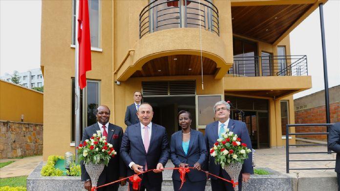 Bakan Çavuşoğlu'nun Ruanda ziyareti