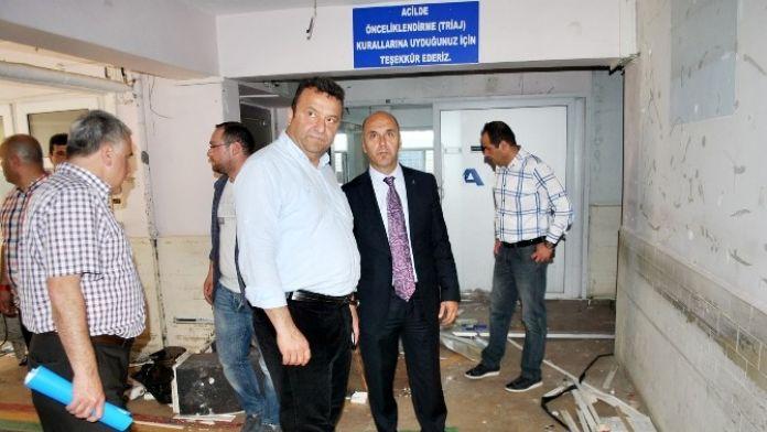Eski Mudanya Devlet Hastanesi Onarılıyor