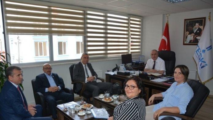 Yeni Atanan Teski Denetçilerinden Genel Müdür Başa'ya Ziyaret