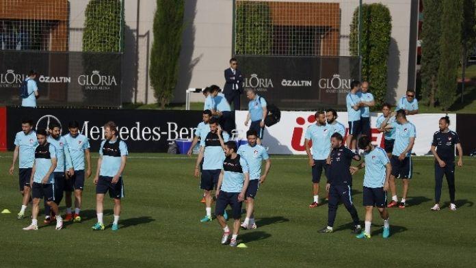 A Milli Futbol Takımı Slovenya Maçı Hazırlıklarını Sürdürdü