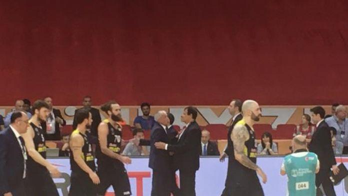 Obradovic ve Ataman arasında tartışma