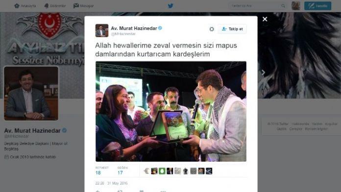 Beşiktaş Belediye Başkanı Murat Hazinedar'ın Twitter Hesabı Hacklendi