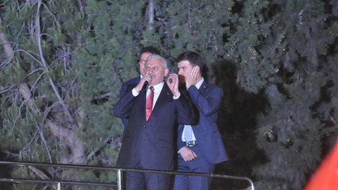 Başbakan Yıldırım, İzmir'den Kılıçdaroğlu'na göndermede bulundu