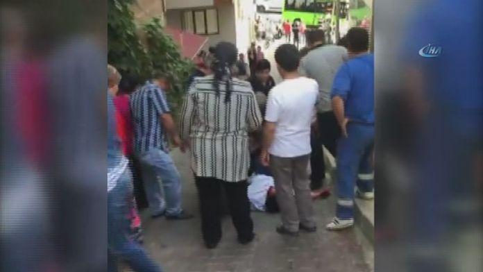 Minibüsün altında kalan kadın hayatını kaybetti