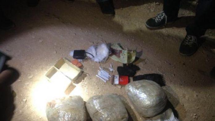 Süleyman Şah Türbesi yakınındaki sınırda 20 kilo TNT ele geçti