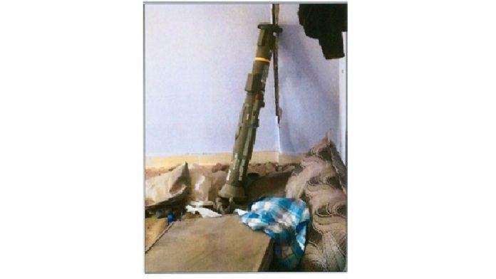 Nusaybin'de Amerikan yapımı anti-tank roketi